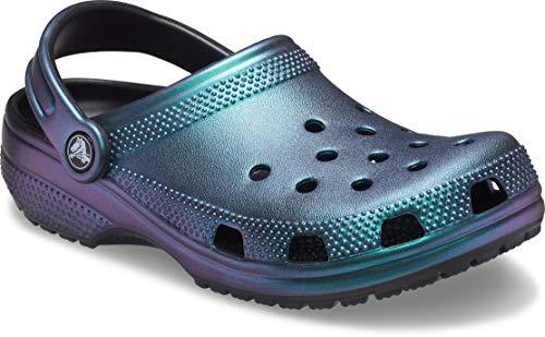 Crocs Classic Prismatic Clog, Zoccoli Unisex-Adulto, Black, 22.5 EU