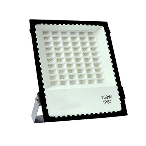 LED Patio Projecteur, 6500K IP67 Imperméable Lumières De Sécurité 85-265V Super Brillant Appliques Murales for Bâtiment, Rue, Carré, Usine (Size : 150W)