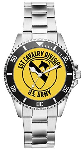 KIESENBERG - Geschenk US Army Veteran Military Soldat 1st Cavalry Division Uhr 6511