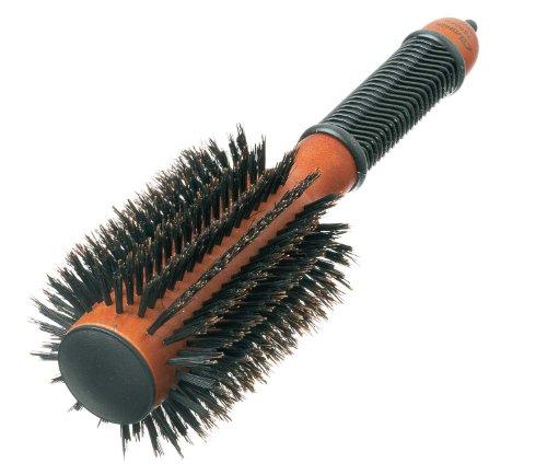 Comair 7000413 Pins - Cepillo redondo (20 filas, cerdas de jabalí)
