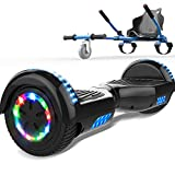 SOUTHERN-WOLF Self-Balancing Scooter, Hoverboard 6,5zoll Hover Scooter Board Bluetooth Scooter mit bunten Lichter Bluetooth eingebaute Geschenk