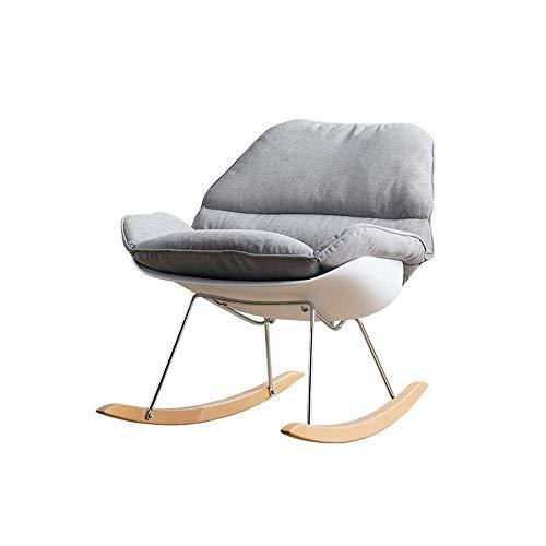 NBVCX Decoración de Muebles, Mecedora nórdica, Simple, para el hogar, para Adultos, Moderno,...