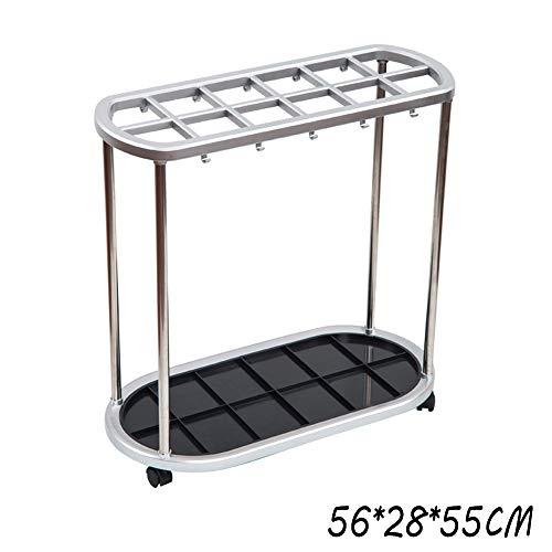 Stockage debout Porte-parapluie / 6 trous 12 trous 21 trous/boîte de rangement/porte-parapluie (Size : 56 * 28 * 55CM)