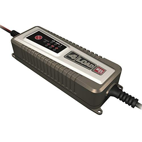 4-load CB-3.6 Charge Box vollautomatisches Ladegerät für Bleibatterien | Ladeerhaltungsfunktion | Für 12V-Batterien von 1-120 Ah | Spritzwassergeschützt | inkl. Tasche und Anschlusskabel, Gold