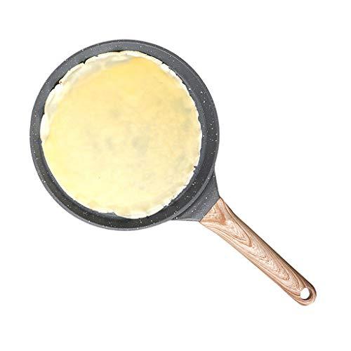 Cookware home De Aluminio Antiadherente Pancake Pan, Pan Crepe, más Sana Libre de químicos Antiadherente (Size : 23cm)