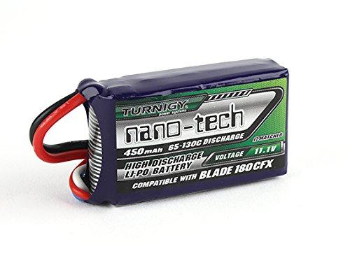 Turnigy nano-tech 450 mAh 3S 65-130C Lipo Pack für E-flite Blade 180 CFX und andere Modelle mit JST Anschluss Modellbau Eibl