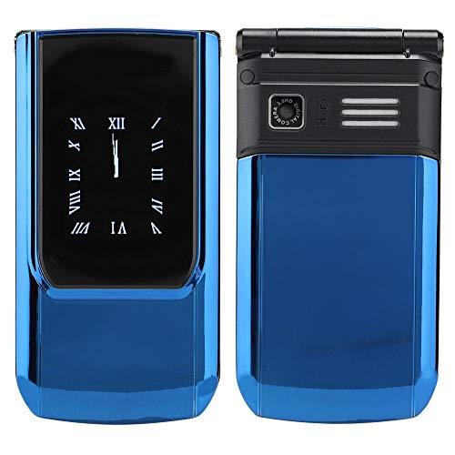 Hoseten Teléfono Celular con Tapa, teléfono Celular con Pantalla Exterior de 1.8 Pulgadas, Adultos prácticos para Estudiantes Mayores, niños(European regulations)