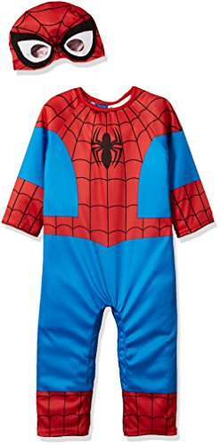 Suit Yourself Spider-Man Halloween Costume for Babies, 6-12 M, Includes Accessories