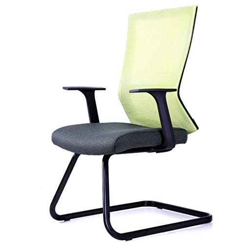 LIUDINGDING-Sessel, Armchair Reclining Adjustable Stand by with Weapons Keine Waffen Verwaltungspersonal Lifting Drehen Bürostuhl Bow Desk Chair (Color : Green Black)