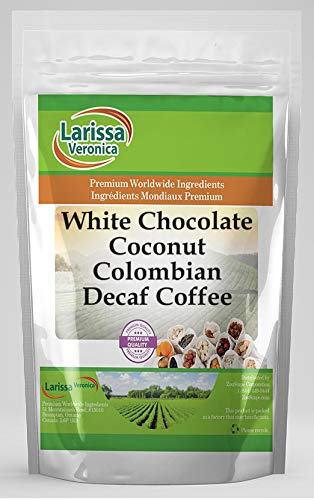 New product! New type Over item handling White Chocolate Coconut Colombian Natural Decaf Coffee Gourmet
