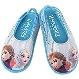 [ディズニー] アナと雪の女王2 Frozen 2 エルサ アナ 女の子 子供用 室内履き キッズ スリッパ ルームシューズ (18.0 cm, シルバーグレー) [並行輸入品]