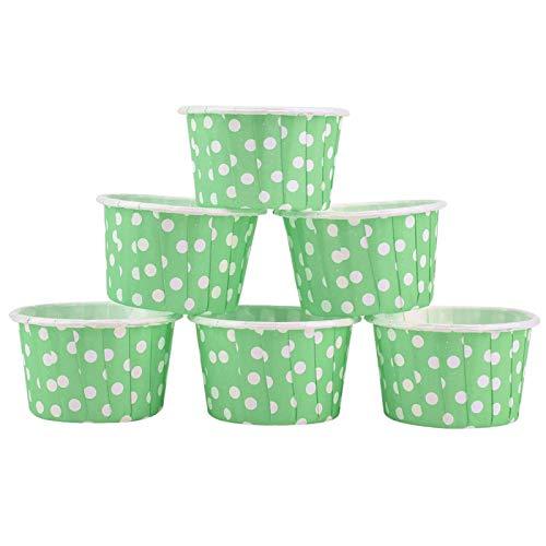Taza de papel Forros para magdalenas Multiusos Mini tarta redonda Taza para...