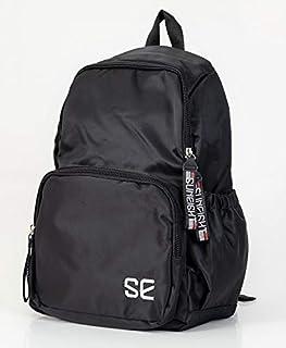 حقيبة ظهر مدرسية للاطفال انبراند مقاس 17 انش, , اسود - 686754132688