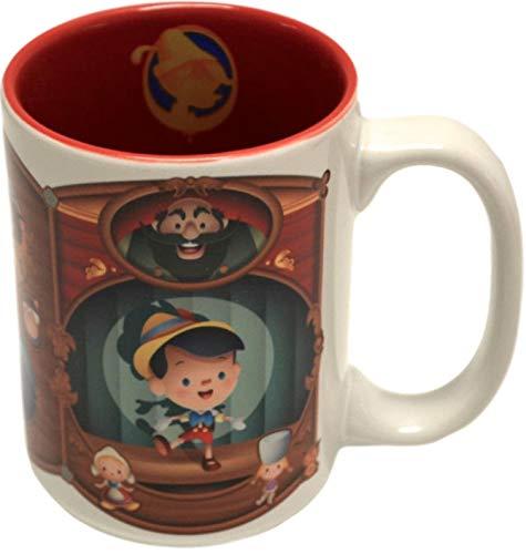 Disney Parks Pinocchio Cuties Character Ceramic Mug NEW