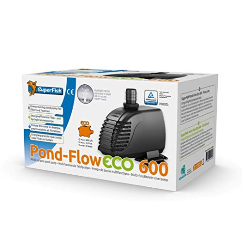 Superfish 801010/2489 Pond Flow ECO Pumpe, Modell: PF 600