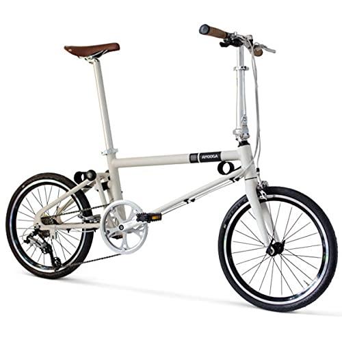 Faltrad Ahooga Essential Muskel weiß 20 Zoll Räder