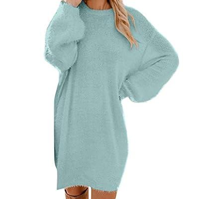 Leewa Sweater Dresses Womens