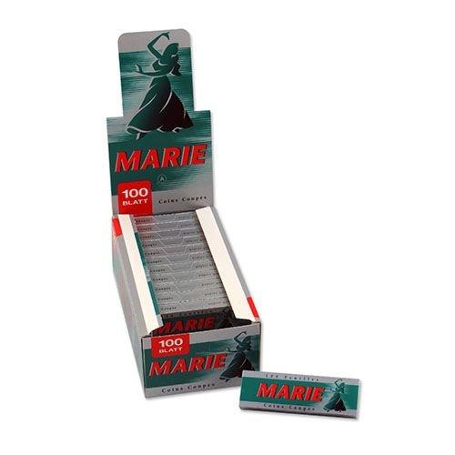 Zigarettenpapier Marie 25 Heftchen à 100 Blättchen