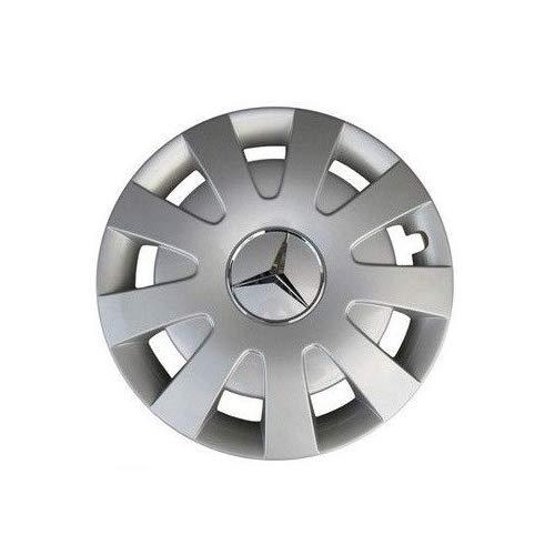 Mercedes Benz Original 4 Stück 16 Zoll Radkappen Brilliantsilber C 907/910 Sprinter Baujahr ab 2018