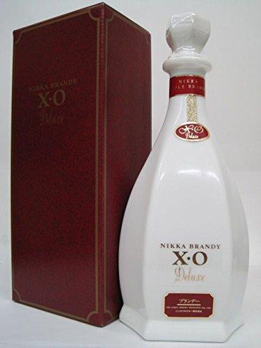 [ギフト] ニッカ XO 白 デラックス (りんごブランデー) 箱付き 40度 660ml