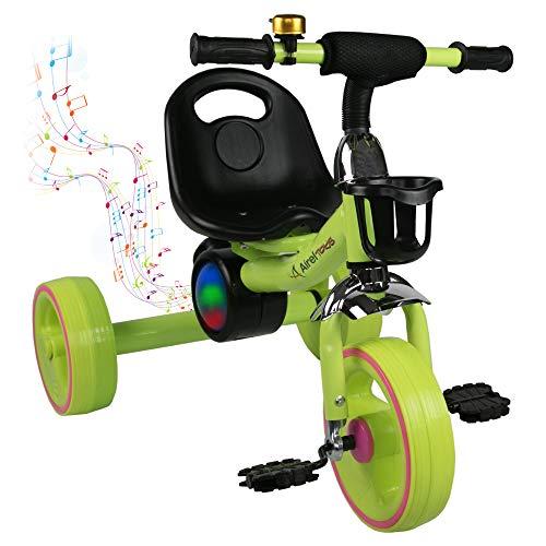 Airel Kinder Laufrad Balance   Dreirad für Kleinkinder   Laufräder Jungen Mädchen   Kinderdreirad Baby   Laufrad mit Pedalen
