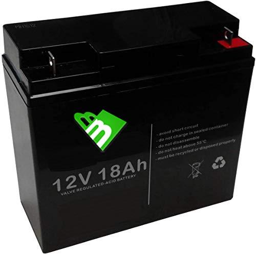 12V 18Ah batteria al piombo ermetica ricaricabile per UPS gruppi di continuità antifurti allarmi avviamento trattorino rasaerba, ermetica ricaricabile