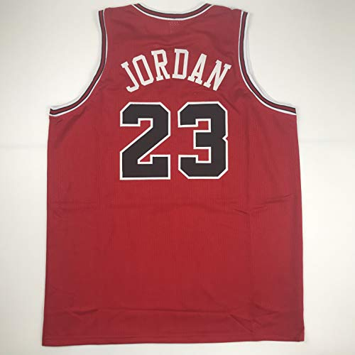 Unsigned Michael Jordan Chicago Red Custom Stitched Basketball Jersey Size Men's XL New No Brands/Logos