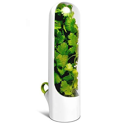 LINONI Vanille-Frischhaltebecher für Gemüse und Feuchtigkeit, Aufbewahrungsbehälter für Tee, Müsli, Nudeln