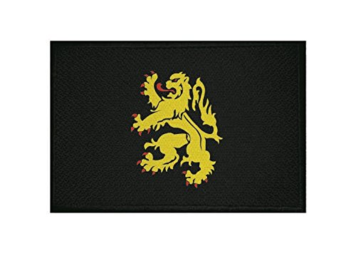U24 applicatie Brabant vlag opstrijkapplicatie 9 x 6 cm