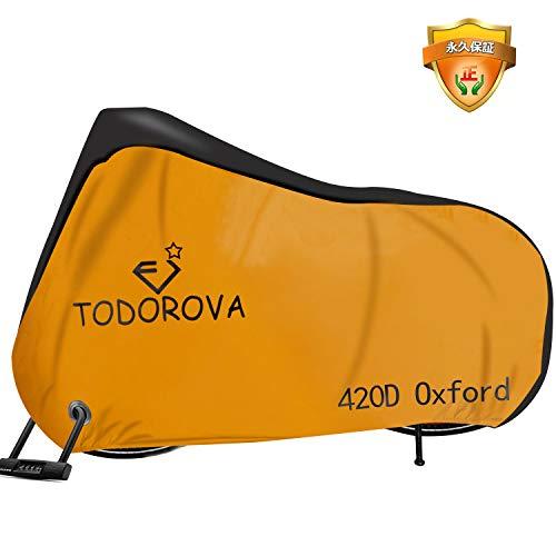 自転車カバー 子供用 キッズ サイクルカバー 防水 420D オックス製厚手 丈夫 破れにくい 防犯 防風 UVカット 収納袋付 破れにくい 24インチまで対応Toradora