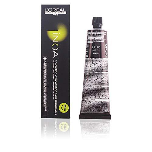L'Oréal Professionnel Inoa Coloration ohne Ammoniak, Farbe: 2 schwarzbraun, 60 ml