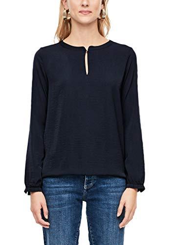 s.Oliver Damen 14.910.31.6911 T-Shirt, Blau (Navy 5959), (Herstellergröße: 38)