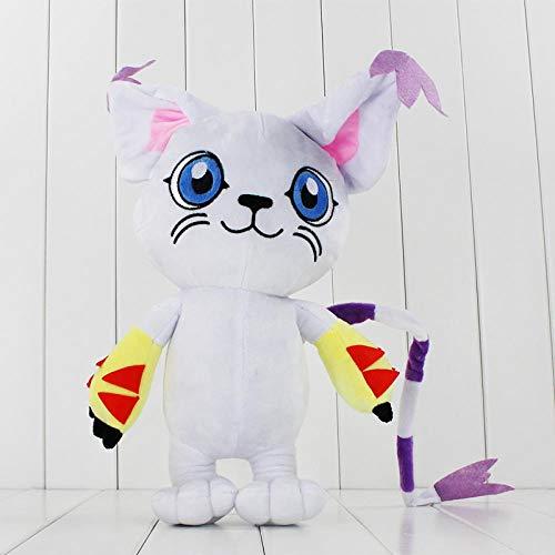 HYL0 Tailmon Katze Niedlichen Plüschtiere Niedlichen Cartoon-weiche Plüschpuppe Geburtstagsgeschenk for Kinder ZZBiao