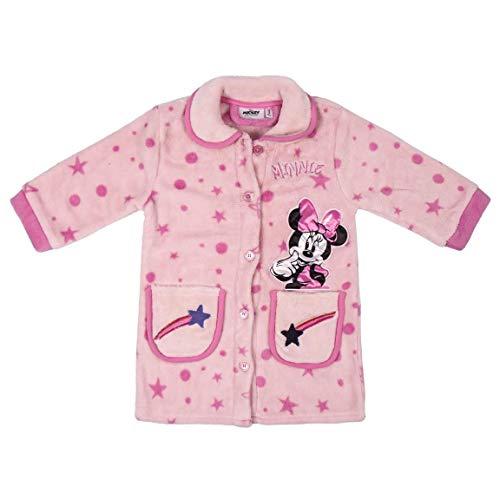CERDÁ LIFE'S LITTLE MOMENTS Bata de Niña Minnie-Licencia Oficial Disney, Rosa, 05A para Niñas