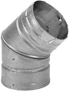 Dura-Vent 3PVP-E45 3 PelletVent Pro Galvalume 45° Elbow