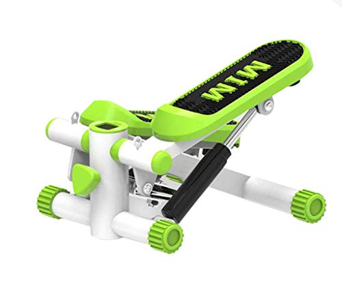 AUKLM Pedal Exerciser,Large Non-Slip Pedals and LCD Monitor, Aerobics with Resistance Band