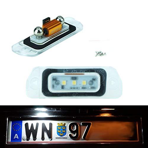 Do!LED W164 LED Kennzeichenbeleuchtung Xenon Weiß