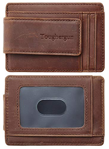 Our #6 Pick is the Toughergum Genuine Leather Magnetic Money Clip