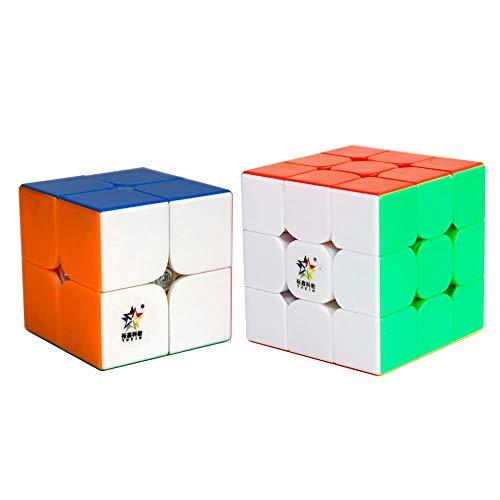 Elloapic Yuxin Little Magic 3x3 Speed Cube Yuxin 3x3x3 Magic Cube Puzzle Black