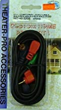 Philmore RGB Component Video Cable w/ Right Angle Connectors - 6' : 45-3206 (1)