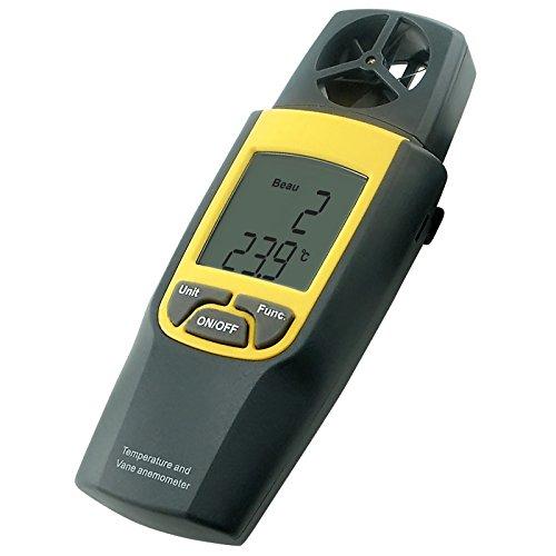 Vitesse du vent Anémomètre thermomètre numérique Air Testeur