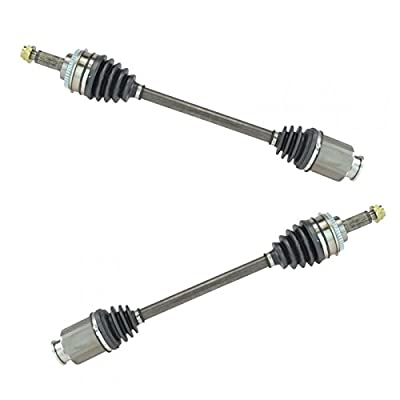 Front CV Joint Axle Shaft Pair L & R For Subaru Legacy Impreza Forester Set Of 2