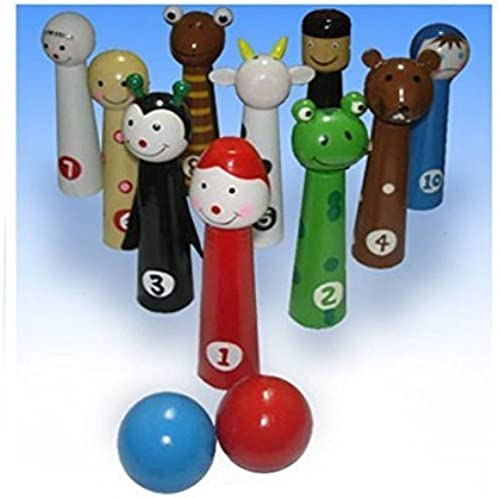 Passover Ten Plagues Bowling Pin Set by Copa