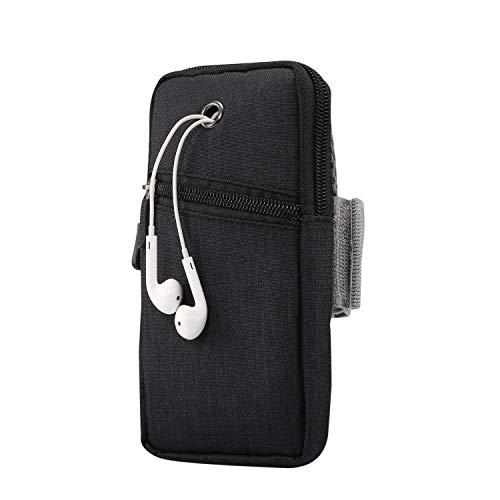 Bolsa de brazo de teléfono para correr, soporte de teléfono celular para iPhone 12 11 Pro Max XS/XR/8/7/6 Plus, soporte para teléfono de gimnasio