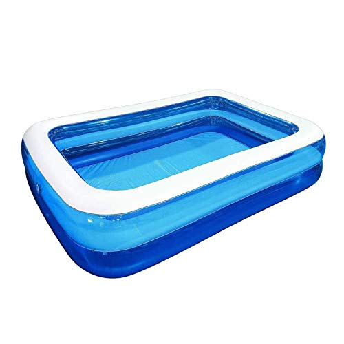 YOUTAI Inflatable Swimming Pool, Inflatable Adult Pool, Family Swimming Pool, Swim Center for Outdoor, Garden, Backyard, Summer Water Party(L)