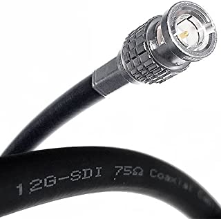 Canare L-5.5CUHD 12G-SDI 4K 16 AWG RG7 Single-Channel BNC Cable 200 FT