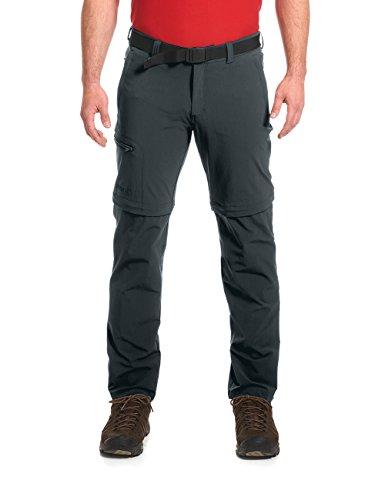 Maier Sports Tajo Pantalon fonctionnel convertible en short grâce aux fermetures éclair en T – Composition : 90% polyamide 10% élasthanne – Disponible