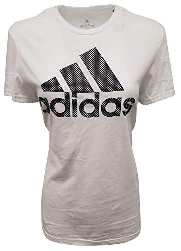 adidas Damen Go-To Tee, Damen, T-Shirt, Go-to Tee, weiß, Large