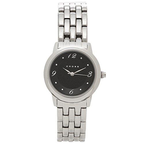 [クロス] 腕時計 レディース CROSS WFAK23R ブラック シルバー [並行輸入品]