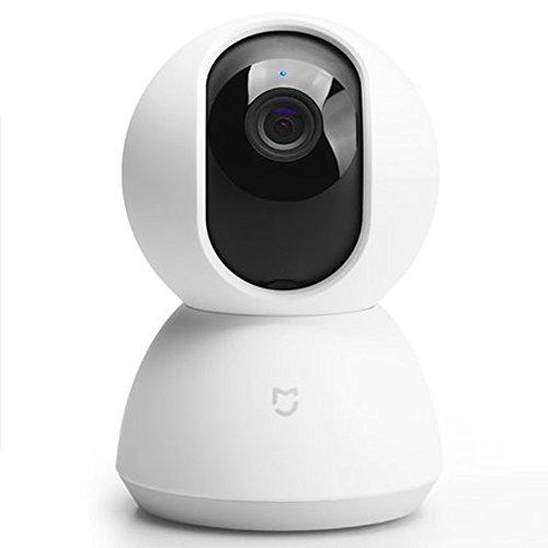 Xiaomi Camera IP de Vigilancia 720P MiJia Giratoria 360° - Wifi - Vision Nocturna - Deteccion de Movimiento